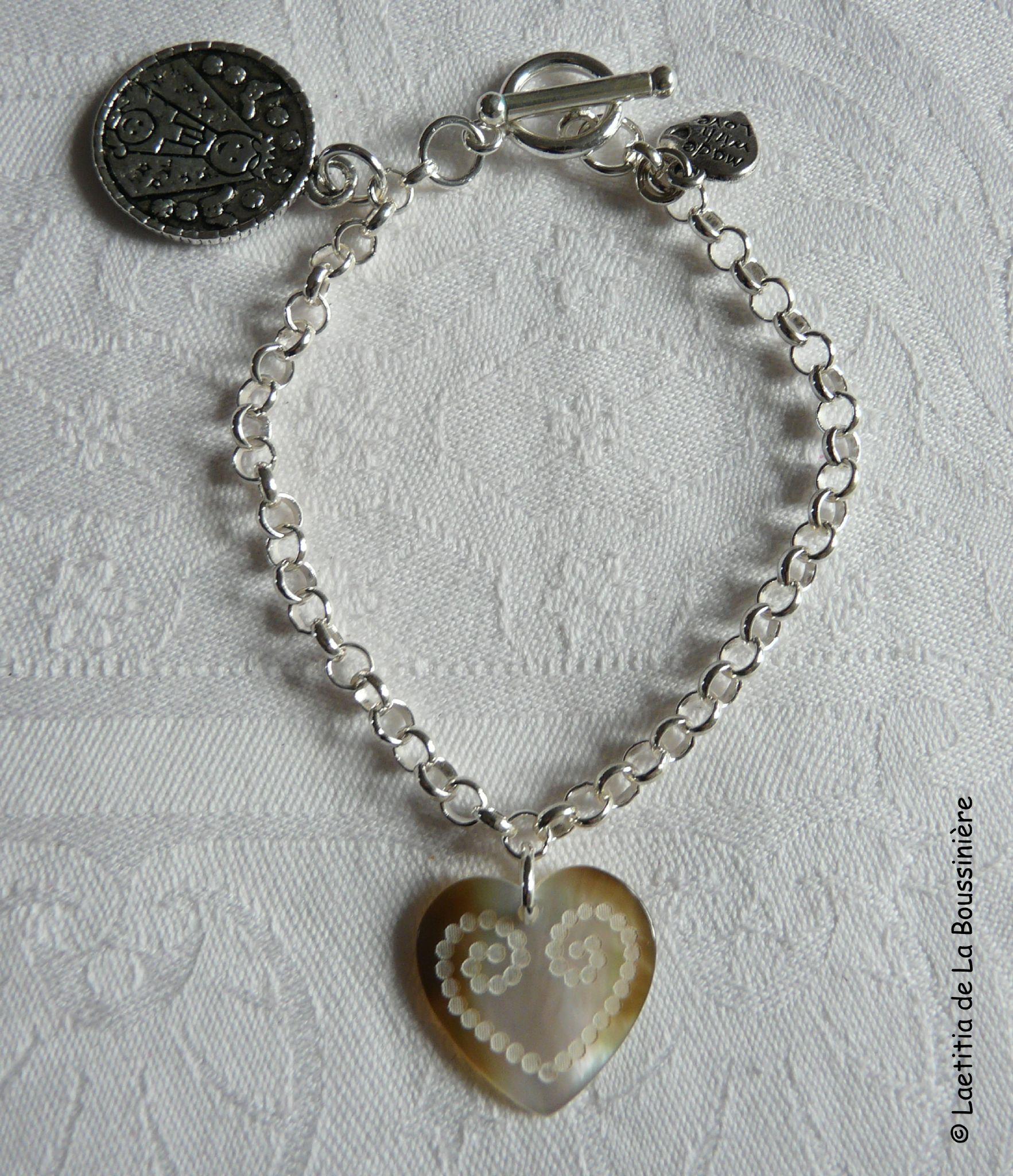 Idée cadeau de naissance - un bracelet
