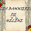 LES BANNIERES D'HELENE
