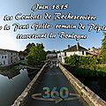 Juin 1815 - les combats de rocheservière sur le pont gallo- romain de péplu traversant la boulogne