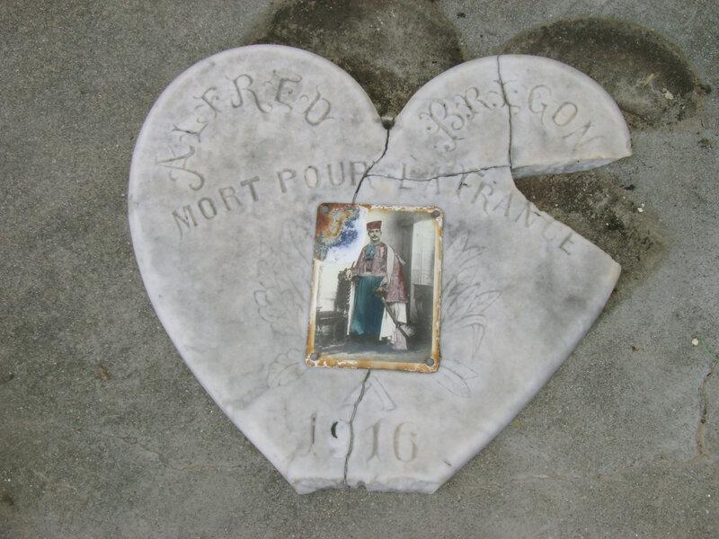 Plaque Alfred Brégonsul Mort pour la France 1