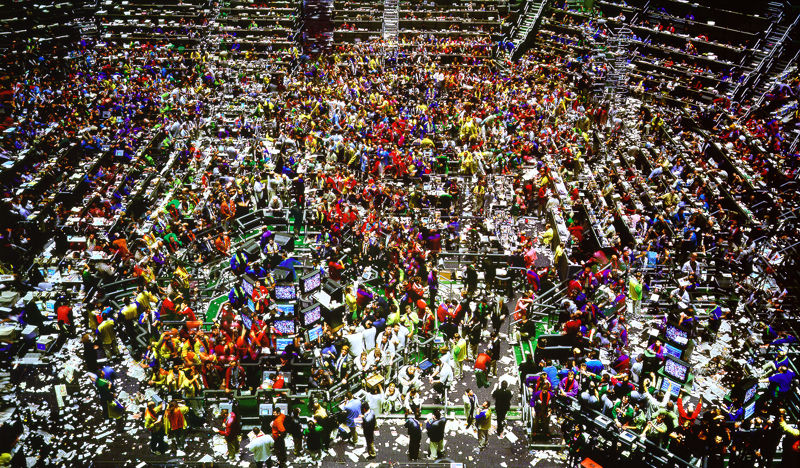 02. Andréas GURSKY, Chicago Board of Trade II, 1999.