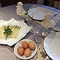 Asperges et œufs à la coque