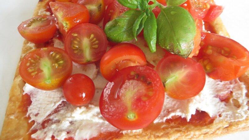 Tarte tomates cerise chèvre frais (3)