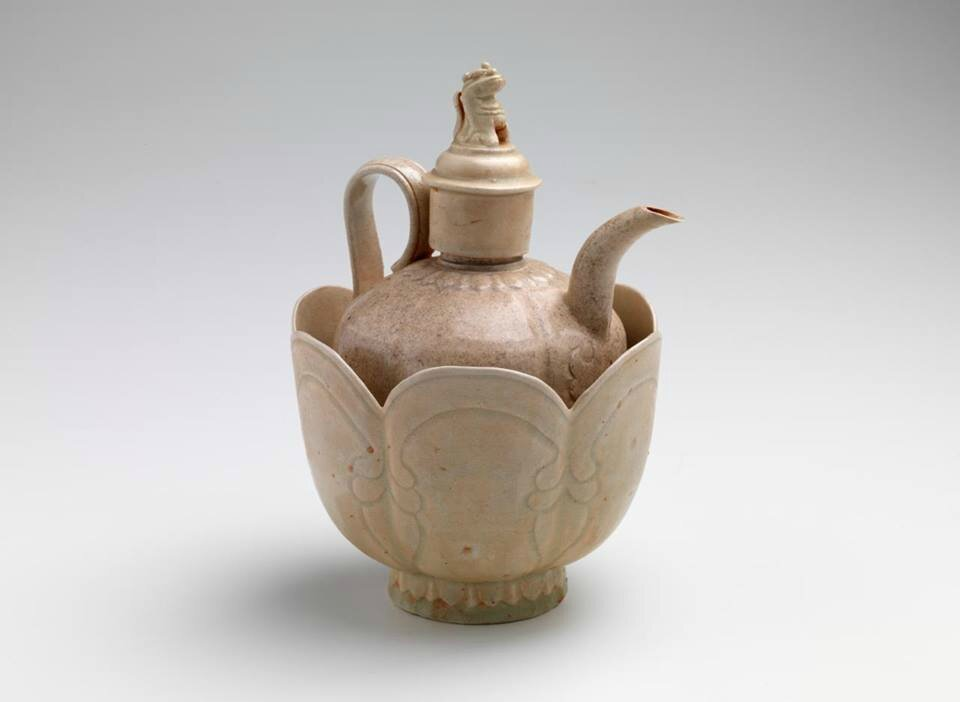 Covered ewer with bowl, Vietnam, 11th century-12th century