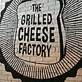 Manger sur le pouce #19 the grilled cheese factory