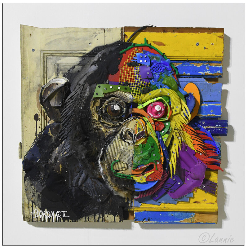 Paris_Bordalo_II_chimpanze