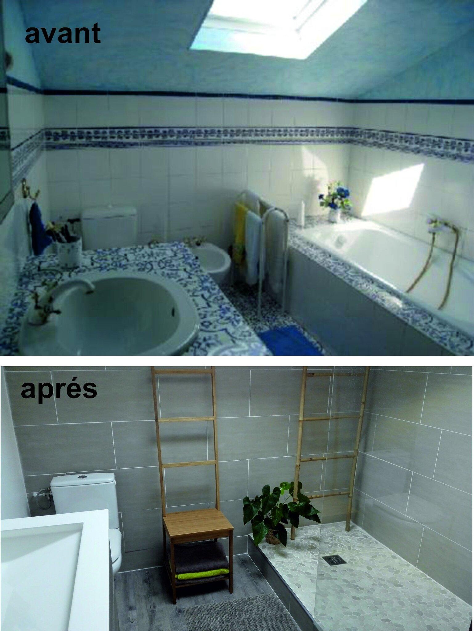 Deco Salle De Bain Avant Apres salle de bain avant apres - photo de deco interieure