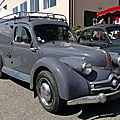 Panhard dyna fourgonnette type k211 1953