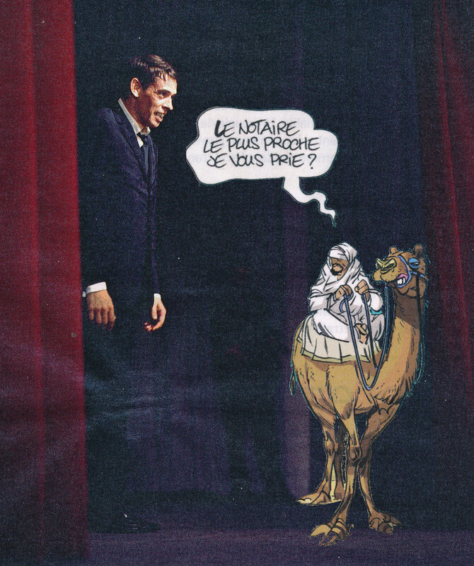 2019 01 01 Jacques Brel et le chameau de bourgeois