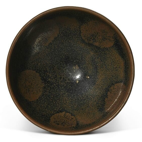 A russet-splashed black-glazed bowl, Northern Song-Jin Dynasty