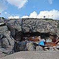 Plouhinec, la grotte de menez dregan