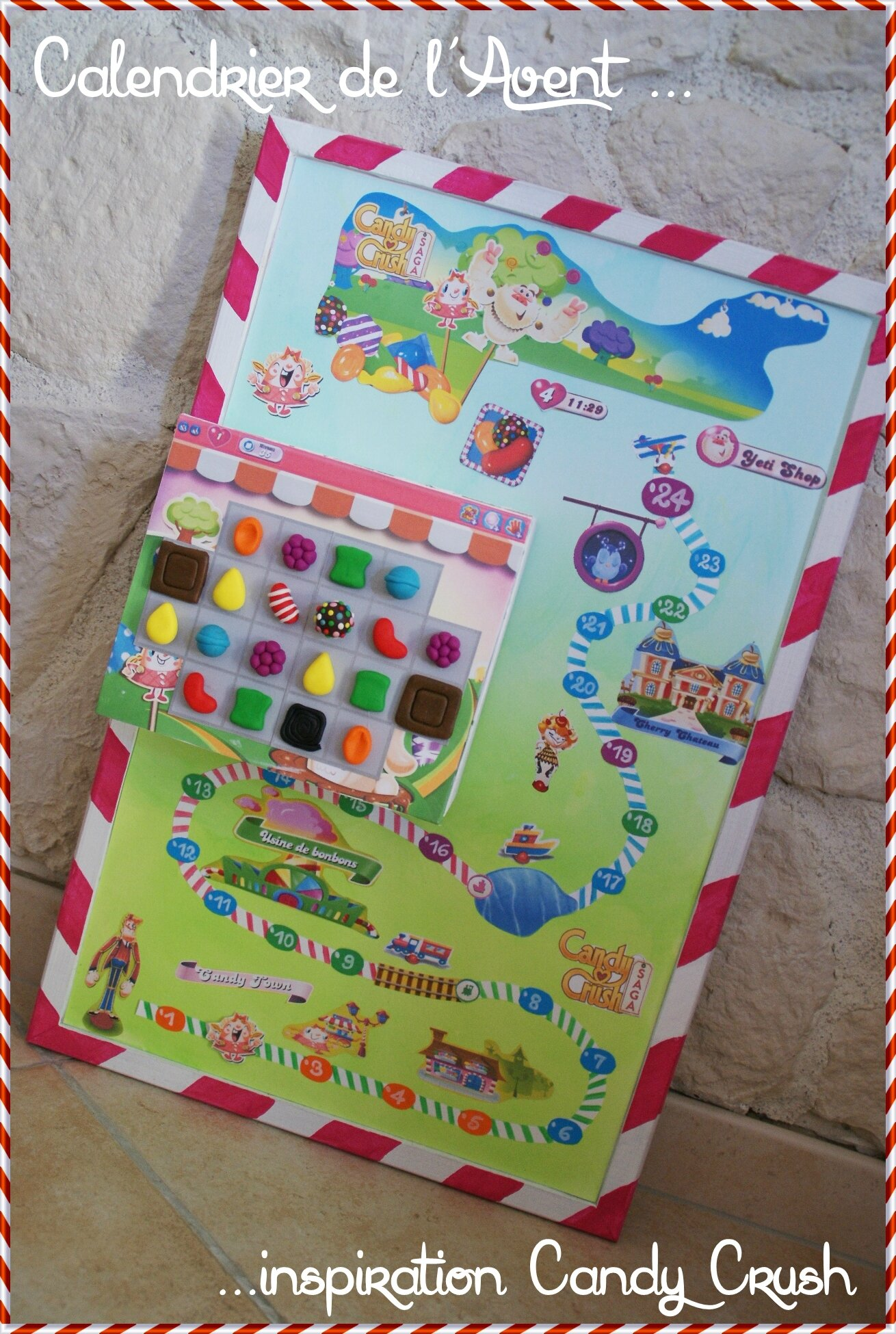 Candy Crush Calendar !!!