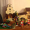 Village de Noël miniature