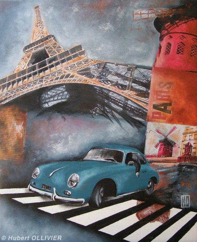Car in Paris