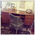 Vendu • bureau vintage •