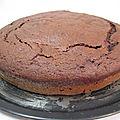 Gâteau au chocolat et betterave