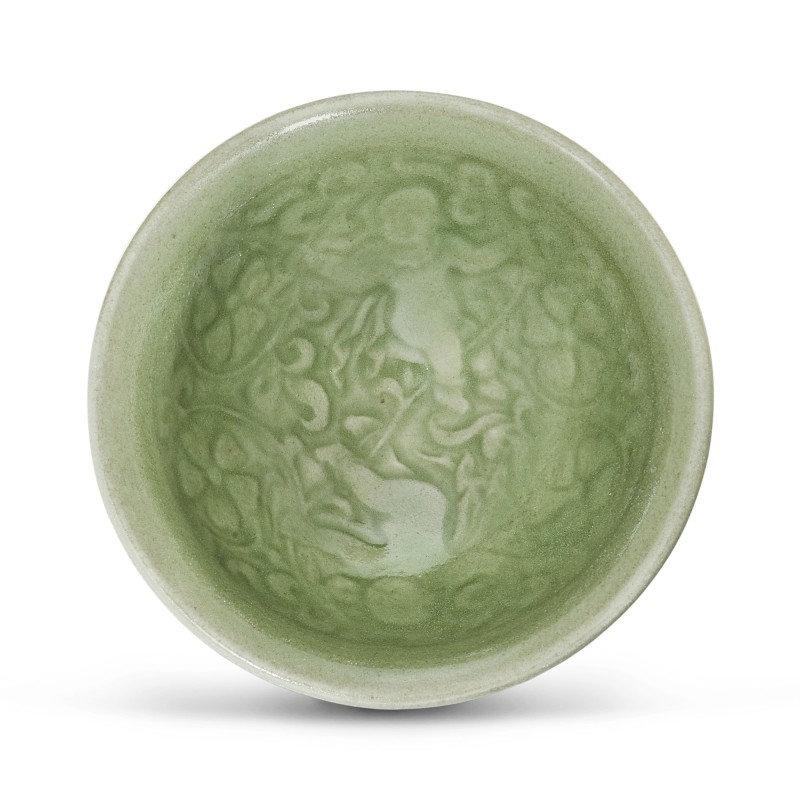 A Yaozhou celadon 'boys' bowl Song dynasty