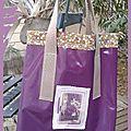 Deux nouveaux sacs en toile cirée