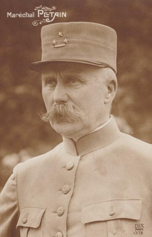 CPA Maréchal Pétain
