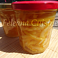 Citronettes confites au limoncello
