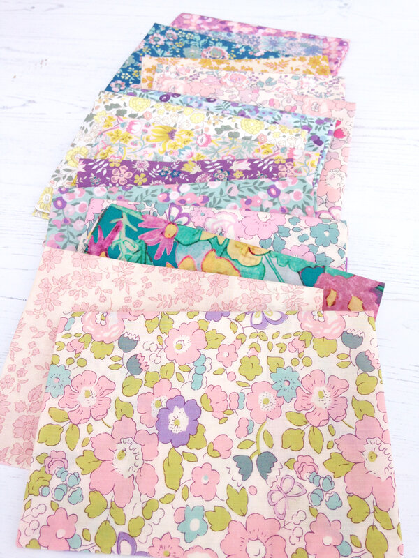 Betsy Butterfly Blossom close with collection
