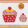 Échange ATC [Juin] Muffin Chez Miou Mady pour Marie de Clessé (1)