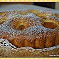 Gâteau aux abricots et au maïs