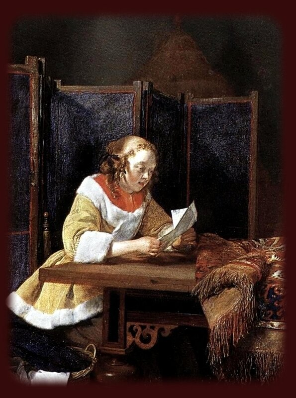 Gerard_Terborch_-_A_Lady_Reading_a_Letter