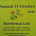 Le grand loto duclub des aînés : samedi 15 octobre à 20h30 !