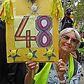 94 Manifestations des Gilets Jaunes (Acte 48)