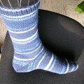 mes chaussettes en laine LANG