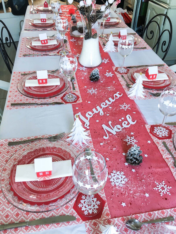 deco table Noel 2018 1