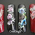 Nail art One Stroke capsules CrocOngle
