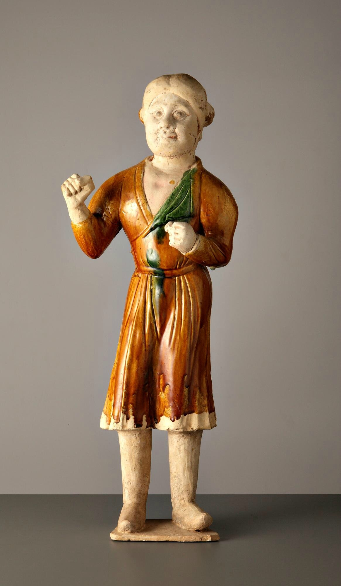 Sancai Groom, Tang dynasty, late 7th-early 8th century