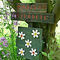 Pancarte récup jardin lilybouticlou