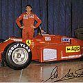 courier-Enzo Ferrari-1985-Fiorano-Alboreto-dedicace
