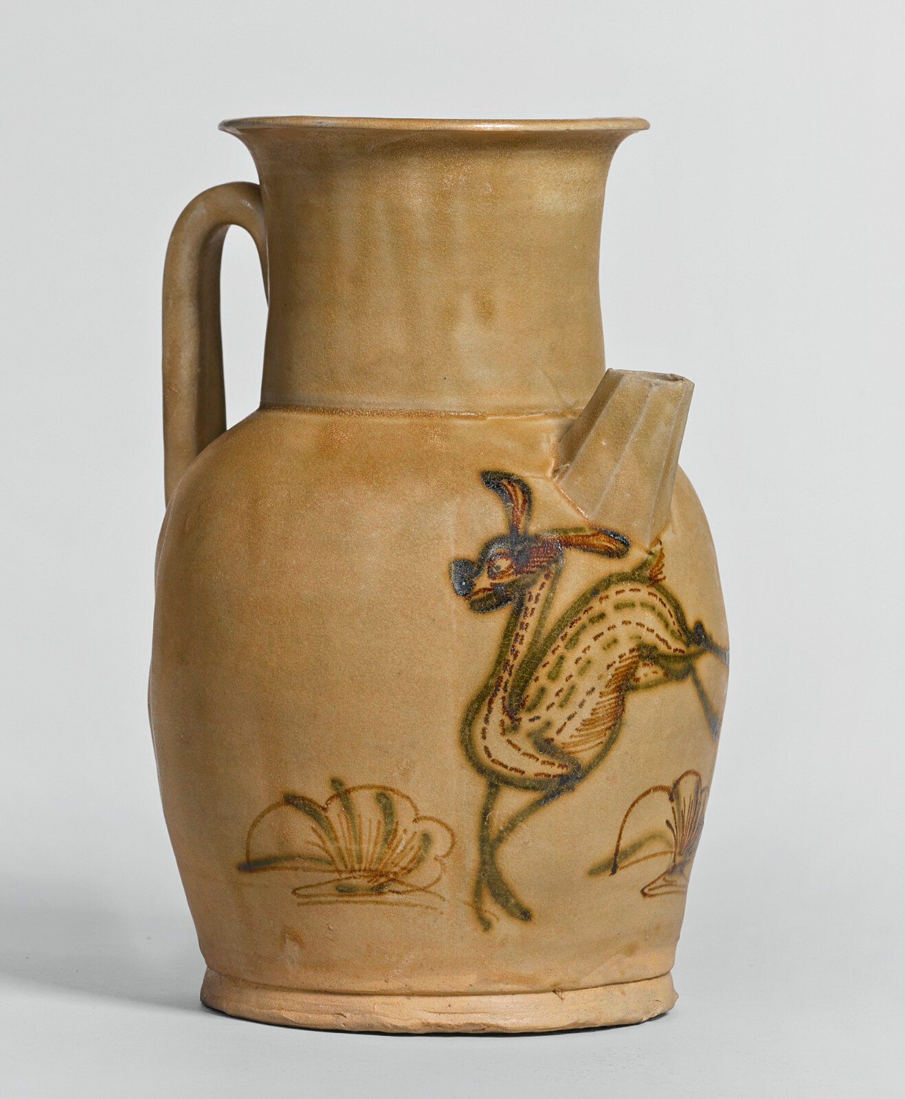 A 'Changsha' painted ewer, Tang dynasty (618-907)