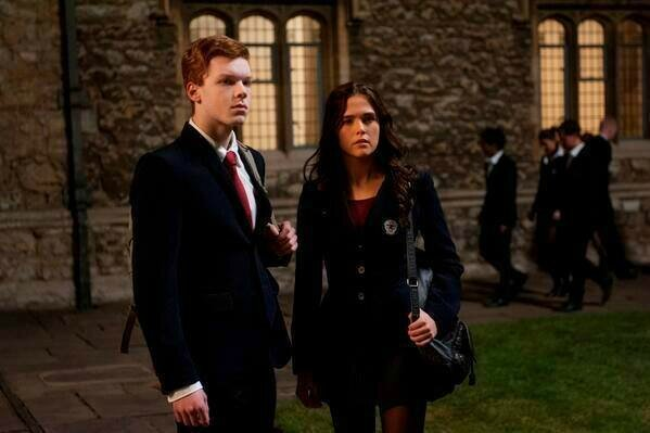 Rose and Mason Vampire Academy movie