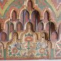 Musée Lala Hadria : détail d'une corniche