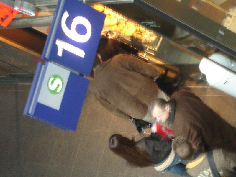 Signalétique Quai 16 - S-Bahn