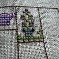 Fleurs dans mon jardin + 2eme essai carnet
