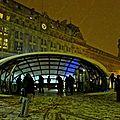 Gare Saint-Lazare, cour de Rome dans le 8ème.