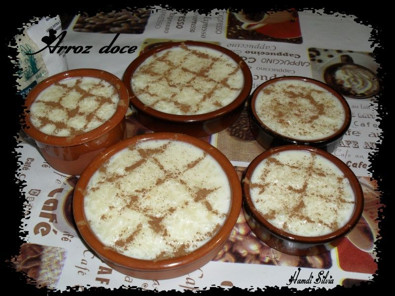 arroz doce riz au lait recette portugaise la popotte de silvi. Black Bedroom Furniture Sets. Home Design Ideas
