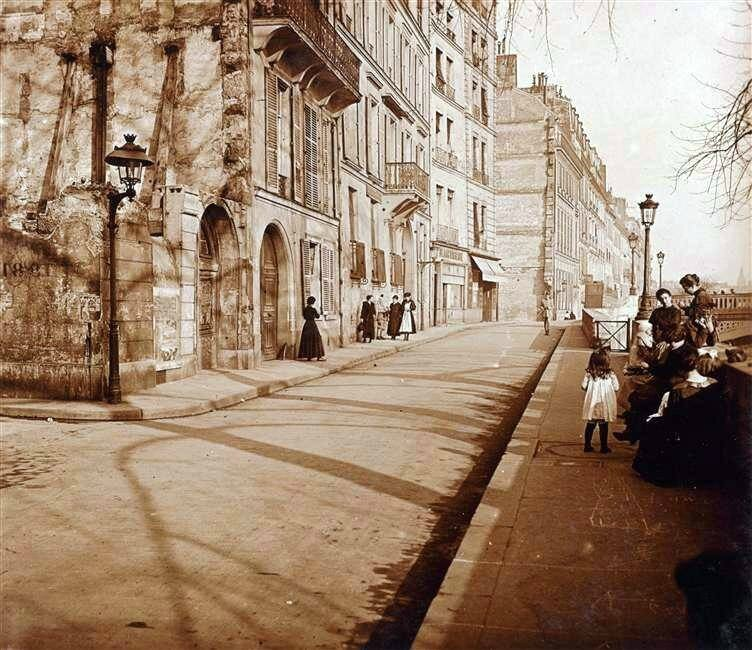 Île Saint-Louis 1910-1914