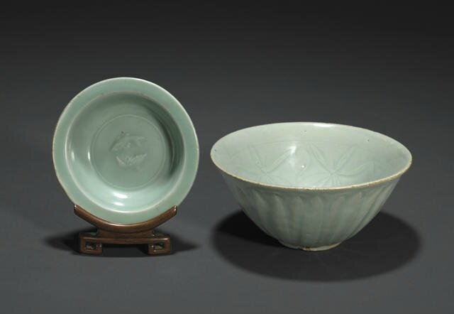 A Longquan celadon bowl, Northern Song dynasty. Photo: Bonhams.