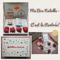 Colis gourmand du jour: ma box nutella - c'est la rentrée! 🍫