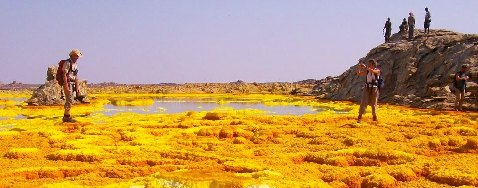 abyss land groupe in danakil dallol, afar