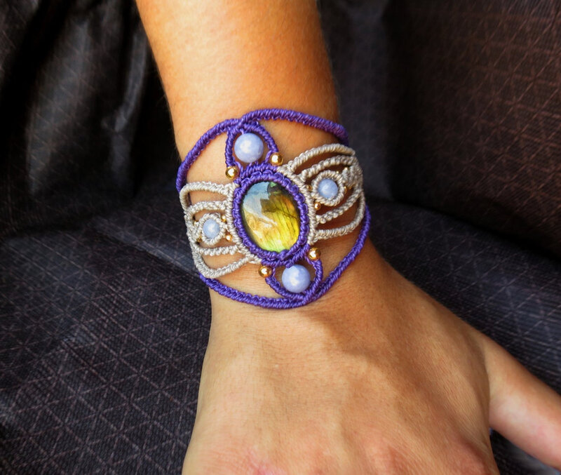 bracelet manchette féerique