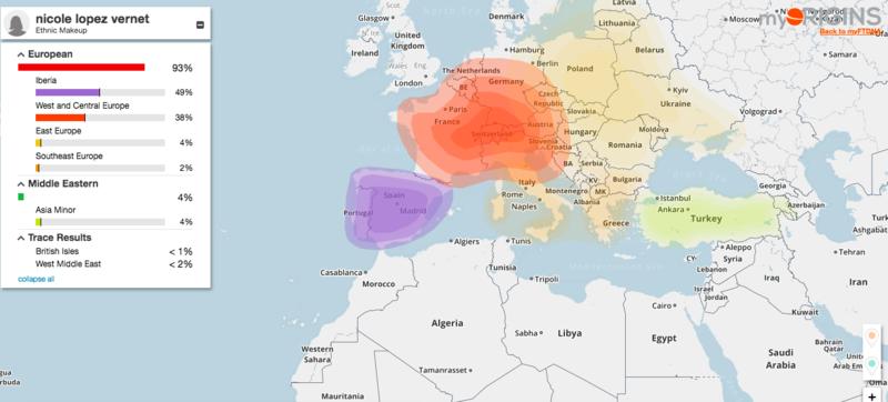 carte des origines nicole