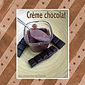 Crème style danette ou liégeois au chocolat sans oeuf avec ou sans la yaourtière muli délices de seb